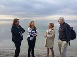 """El Mar Menor, """"en situación de estabilidad"""" gracias al cese de entrada de nutrientes a la laguna"""