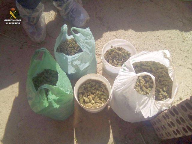 Marihuana incautada en Girona para transportar a Alemania