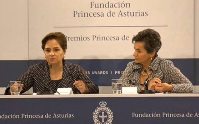 Fueda de prensa de Espinosa y Figueres.