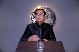 """El jefe de junta militar de Tailandia dice que el país ha """"sobrevivido"""" por la monarquía"""