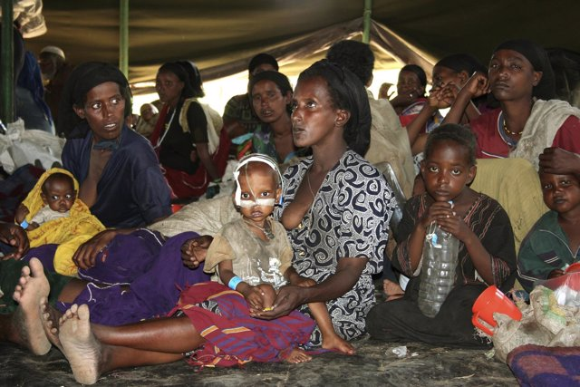 Hambruna en Etiopía