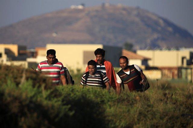 Inmigrantes de Pakistán en Kos, Grecia