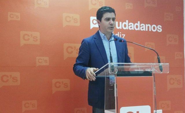 Sergio Romero, portavoz adjunto de C's en el Parlamento andaluz