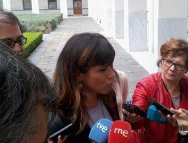 "Teresa Rodríguez avisa del ""riesgo de aclimatarse a las instituciones"""