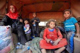 La Cruz Roja turca envía a Mosul 20 camiones con ayuda humanitaria