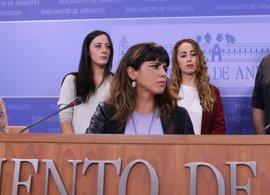 """Teresa Rodríguez: """"El rollo de la pinza"""" PP-Podemos """"no se lo traga nadie"""""""