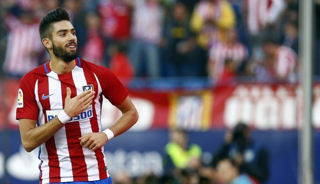 Yannick Carrasco Atlético de Madrid contra Granada