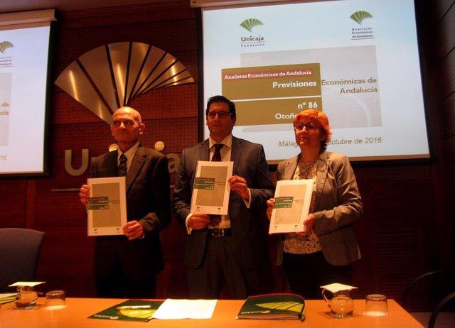 Presentación del informe de Analistas Económicos de Andalucía