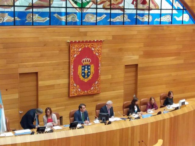 Mesa del Parlamento de Galicia X Legislatura