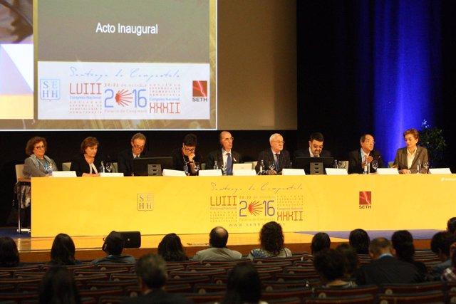 Congreso de hematólogos en Santiago.