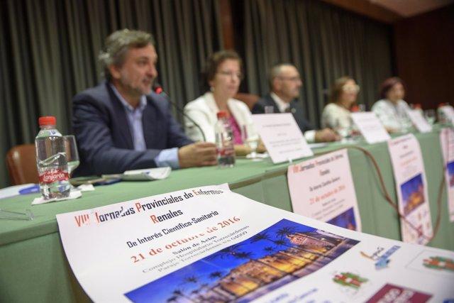 El diputado Ángel Escobar asiste a las VIII Jornadas de Enfermos Renales Alcer.