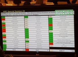 El Consejo de DDHH de Naciones Unidas abre una investigación especial sobre crímenes de guerra en Alepo