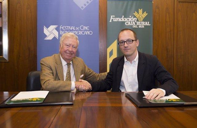 Colaboración de la Caja Rural del Sur y el Festival de Cine de Huelva.