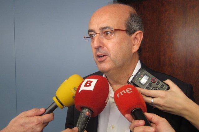 El concejal del PP en Barcelona Javier Mulleras