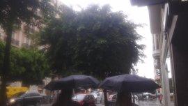 Alerta amarilla por lluvias este sábado en Huelva, Sevilla, y Cádiz