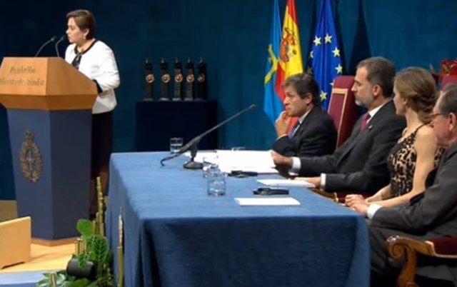 Patricia Espinosa en los Premios Princesa de Asturias