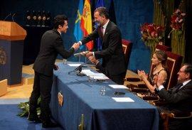 Javier Gómez Noya recibe el Princesa de Asturias de los Deportes 2016