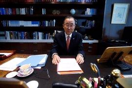 Ban Ki Moon deja caer una vuelta a la política de Corea del Sur