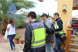 Policía Nacional desmantela un laboratorio de adulteración de cocaína