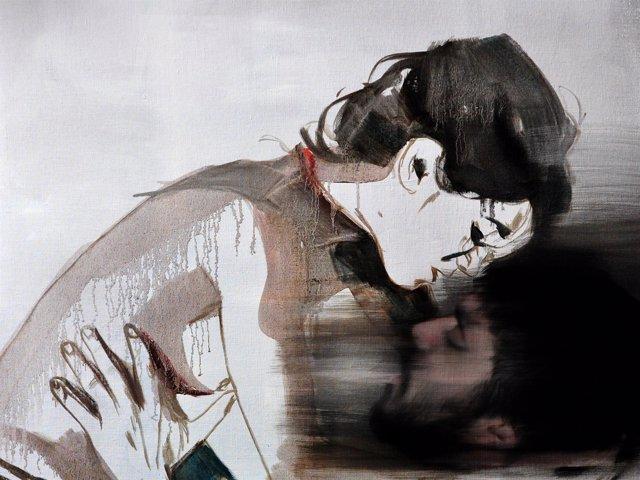 Una de las ilustraciones de Paula Bonet para 'La Sed'