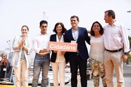 Los líderes de Ciudadanos, más presentes en Galicia Y Euskadi para mejorar la implantación