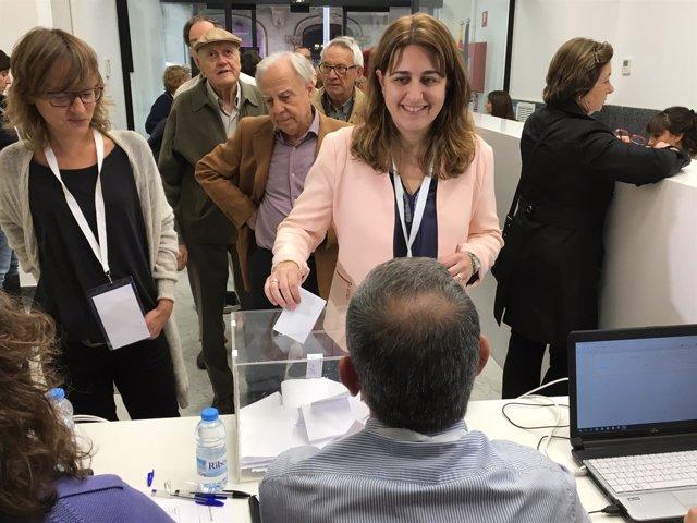 La coordinadora general del PDC, Marta Pascal