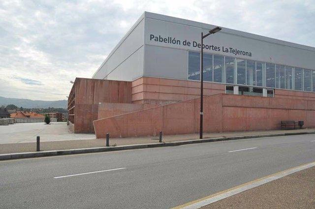 Pabellón de deportes en Gijón