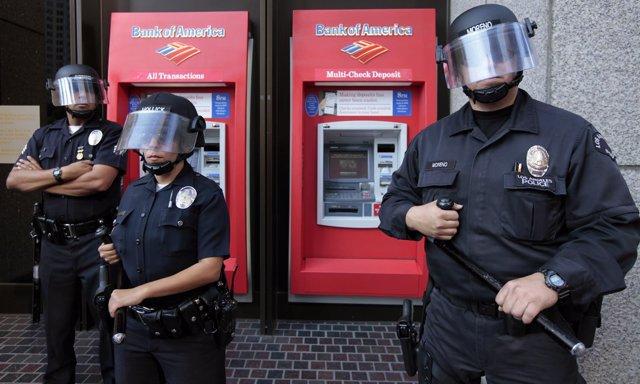 Agentes de Policía en EEUU