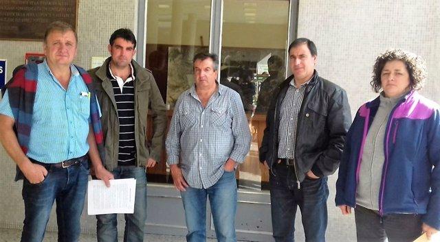 Miembros de la Junta Directiva de la Asociación de Raza Tudanca