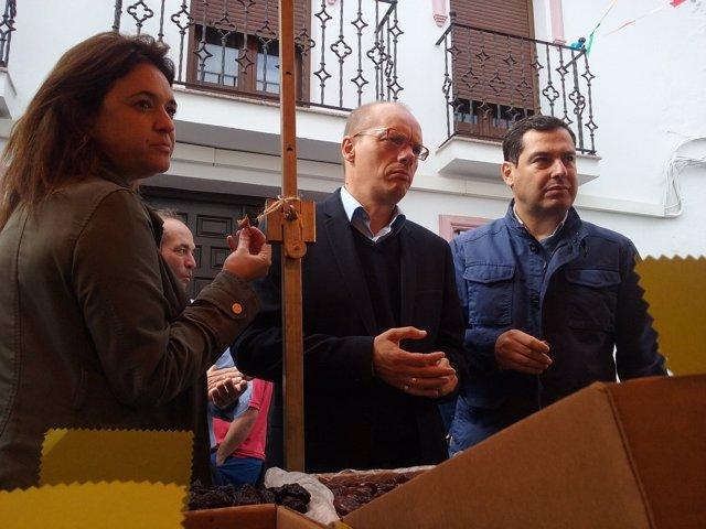 NP, Audio Y Fotos PP Andaluz: Juanma Moreno En Yunquera