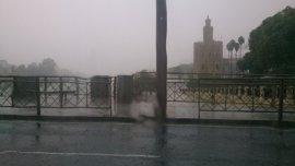 Más de 400 actuaciones municipales por las lluvias en Sevilla