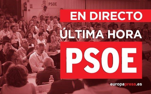 Ultimas noticias Comité Federal PSOE 2016 | Directo
