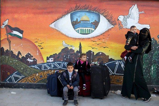 Bloqueo en Gaza