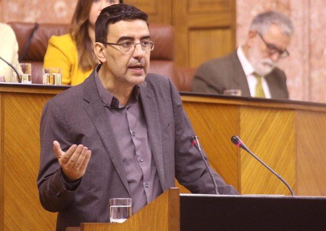 El portavoz del PSOE-A, Mario Jiménez