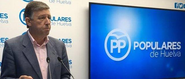Carmelo Romero, alcalde de Palos y diputado en el Congreso