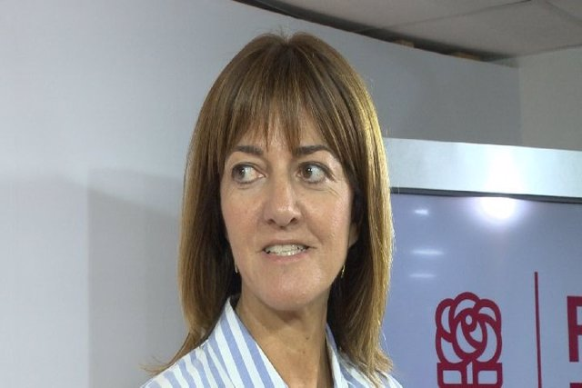 La Secretaria General Del PSE, Idoia Mendia