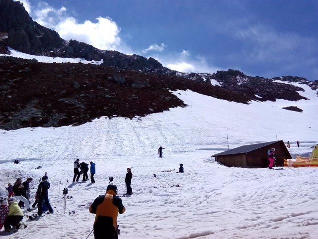 San Isidro, esquí, nieve.