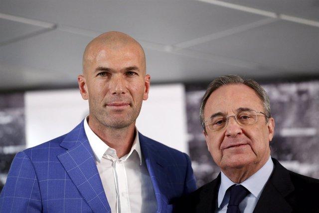 Zinédine Zidane Florentino Pérez Real Madrid