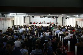 El Comité Federal del PSOE en imágenes