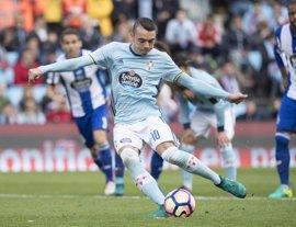 El Celta de Vigo golea al Deportivo en un vibrante derbi gallego