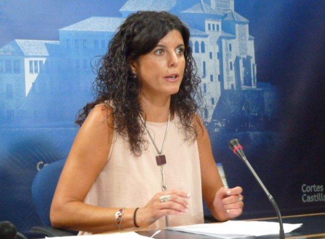 Josefina Navarrete, secretaria primera de la Mesa de las Cortes de C-LM