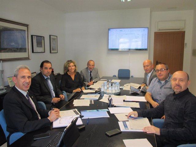 Última reunión de la mesa de la Responsabilidad Social de Aragón.