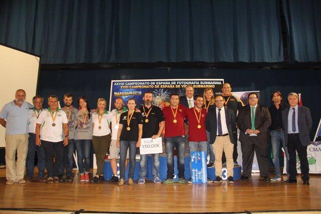 Campeonato de España de Fotografía Submarina