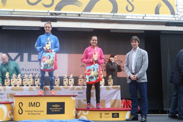 Entrega de premios de la carrera popular del casco antiguo