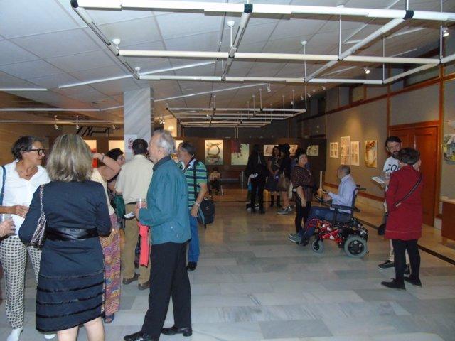 Exposición de artistas plásticos en Almuñécar (Granada)
