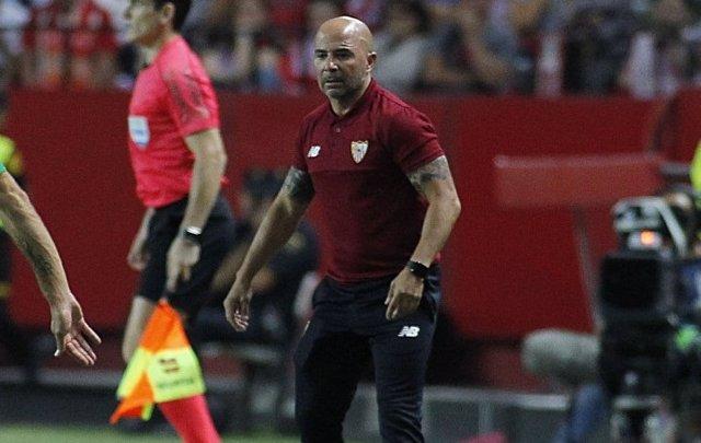 El Entrenador Del Sevilla FC, Jorge Sampaoli,