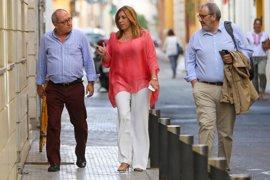 Susana Díaz analiza con la Ejecutiva del PSOE-A la situación política y los Presupuestos