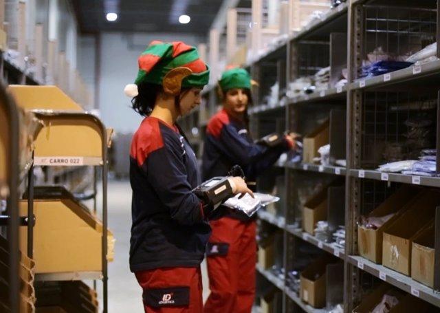 Los ayudantes de Papa Noel y los Reyes en Privalia