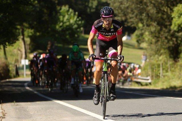 Héctor Carretero, nuevo ciclista del Movistar Team