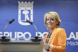 """Aguirre ve """"muy positiva"""" la abstención del PSOE"""